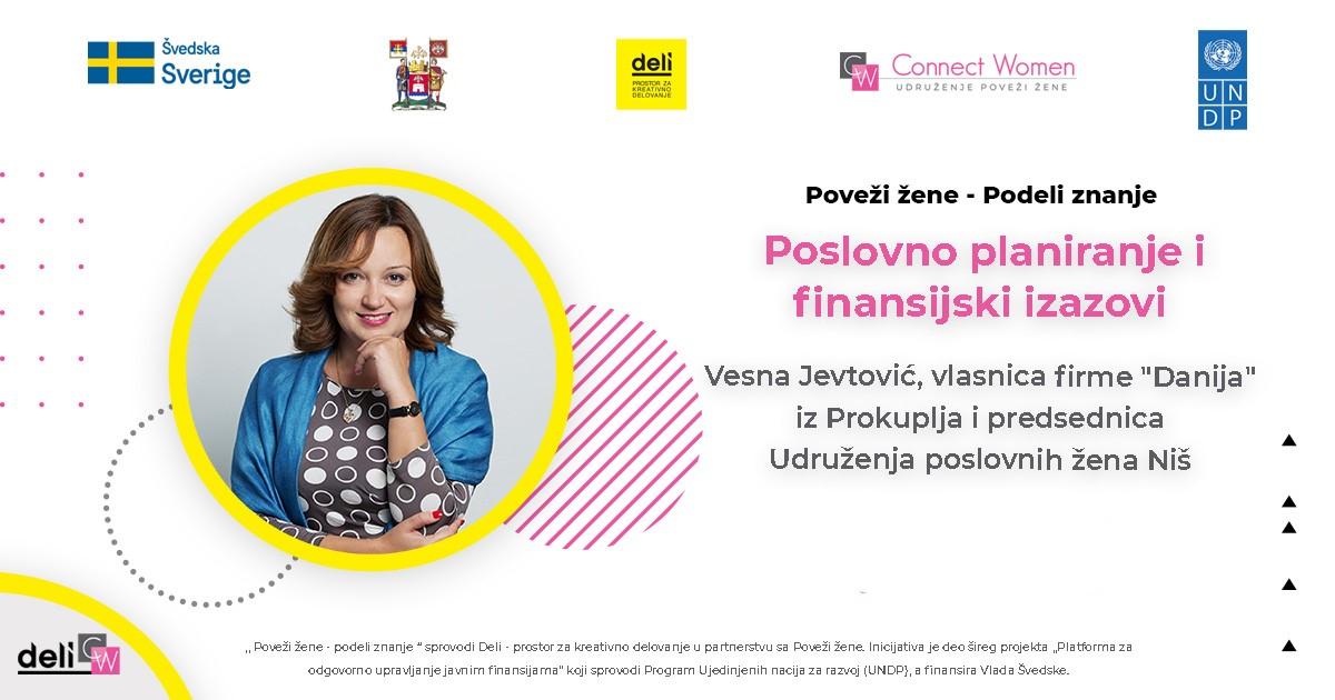 """Vesna Jevtović, vlasnica firme """"Danija"""""""