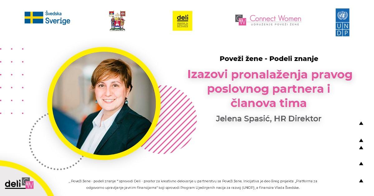 Intervju sa Jelenom Spasić, HR direktor