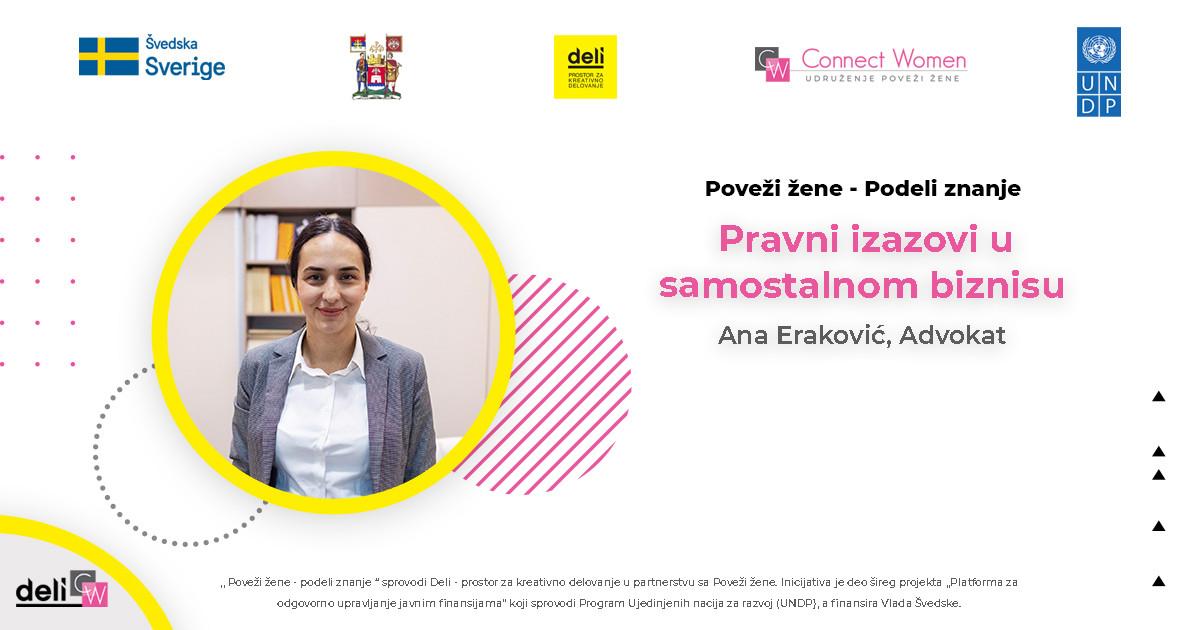 Ana Eraković, advokat, Niš