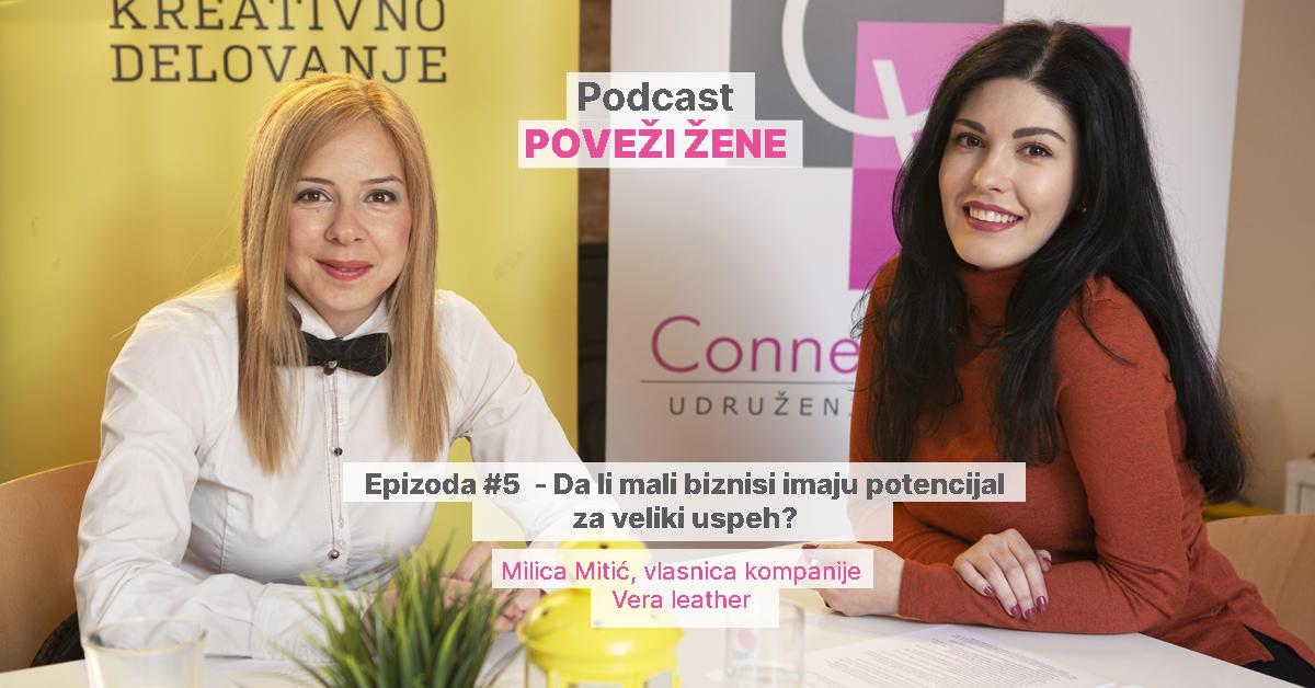 Vera Leather, Milica Mitić vlasnica biznisa
